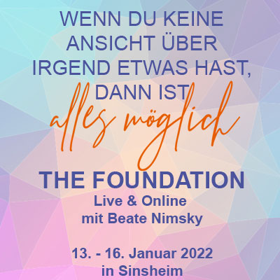 Event: The Foundation - mit Beate Nimsky